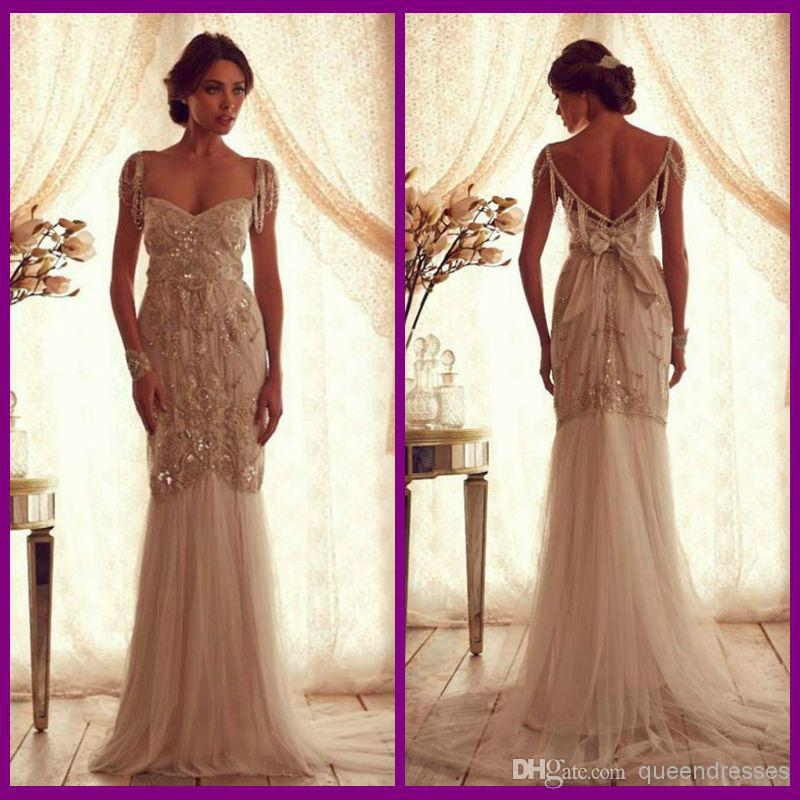 Cheap vintage wedding dress online