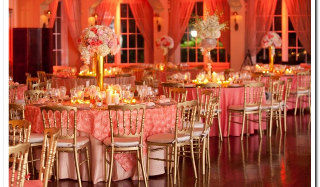 Coral Wedding Decorations