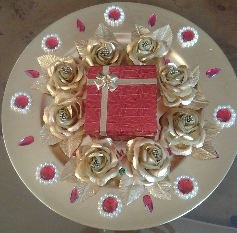 With this ring platters