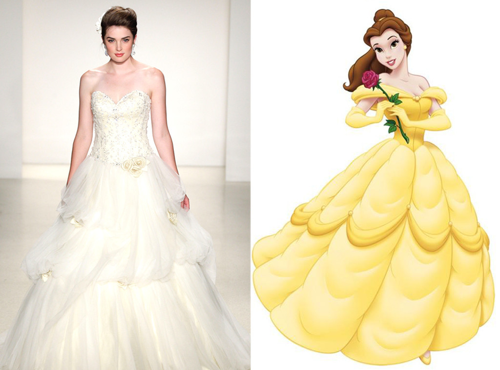 Disney Princess Inspired Wedding Dresses – Emasscraft.org