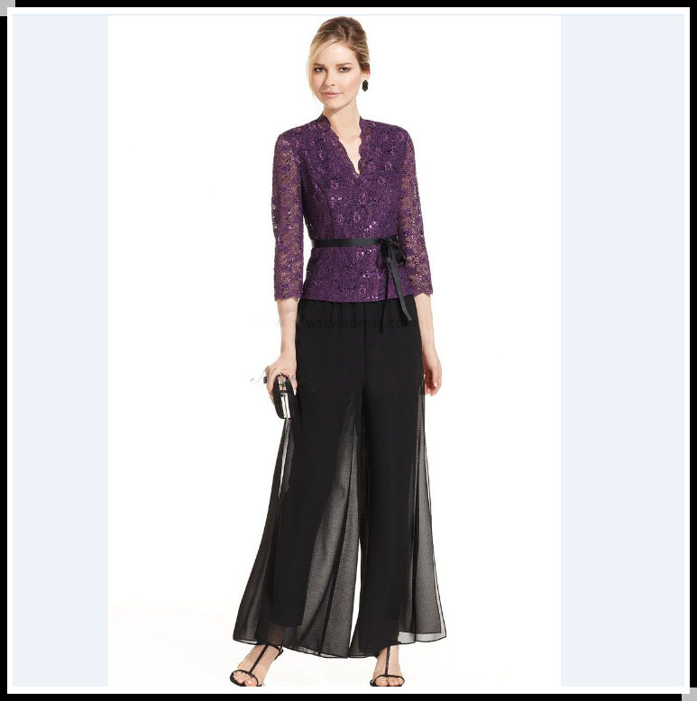 Dressy pant suits for wedding guest for Dress pant outfits for wedding