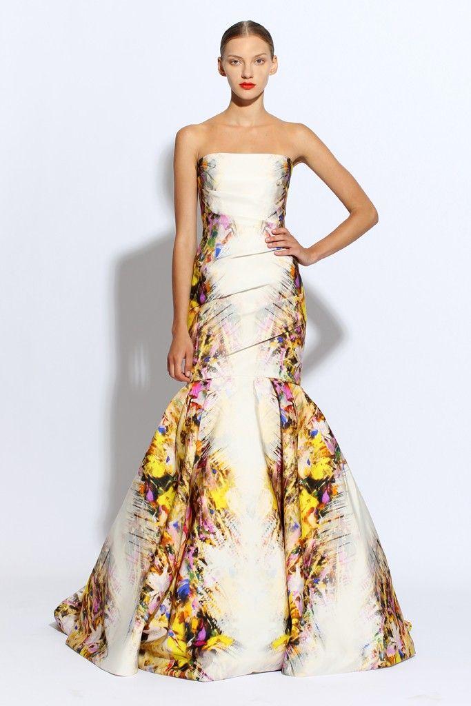 Floral Print Wedding Dress Pinterest – Fashion dresses