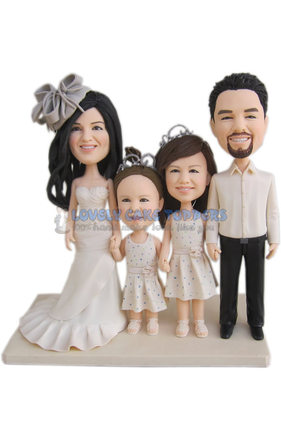 Funny Wedding Cake Topper. Personalized Wedding Cake Topper