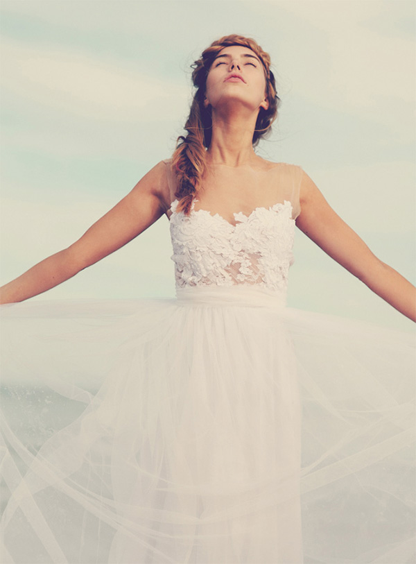 Tulle wedding dress for Ready to wear wedding dresses online