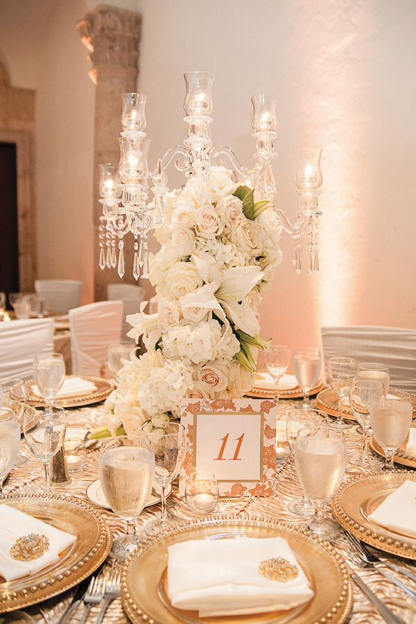 Gold and white wedding theme for All white wedding decoration ideas