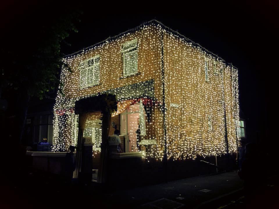 House Lighting Decoration For Wedding Wedding master Drive away