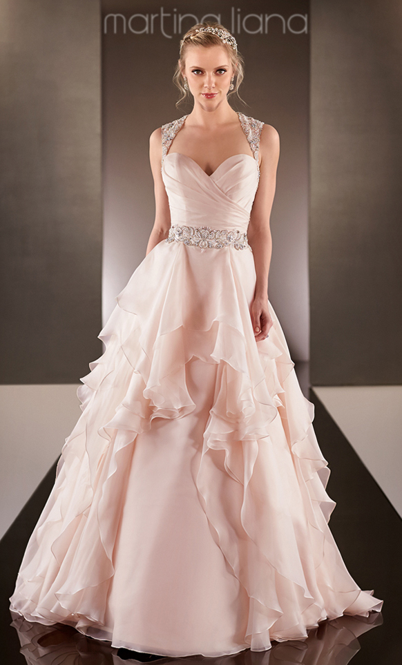 Blush colored wedding dress images of blush colored wedding dress junglespirit