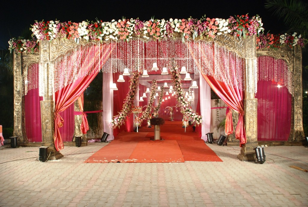 Indian Wedding Hall Decoration Ideas