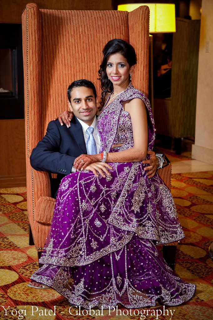 Hindu Wedding Reception Dress Gallery - Wedding Decoration Ideas