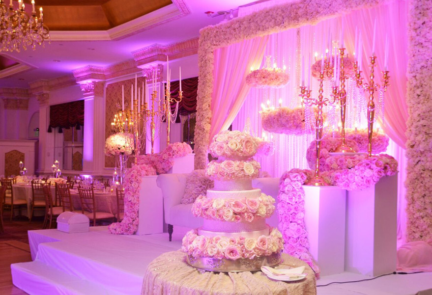 Decorated reception halls wedding los angeles wedding venues junglespirit