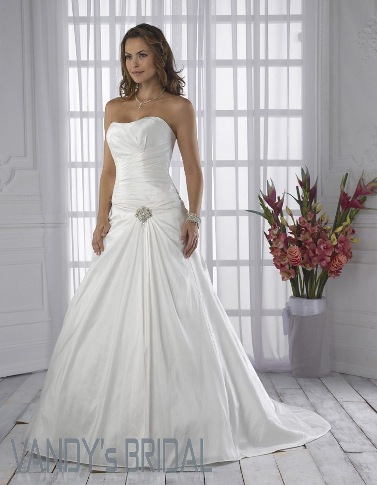 White wedding dress mermaid strapless court train sleeveless satin white wedding dress junglespirit Images