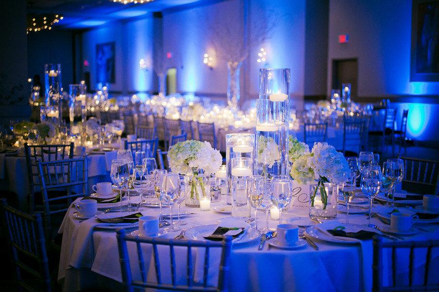 Wedding reception decorations navy blue wedding reception decorations junglespirit Image collections