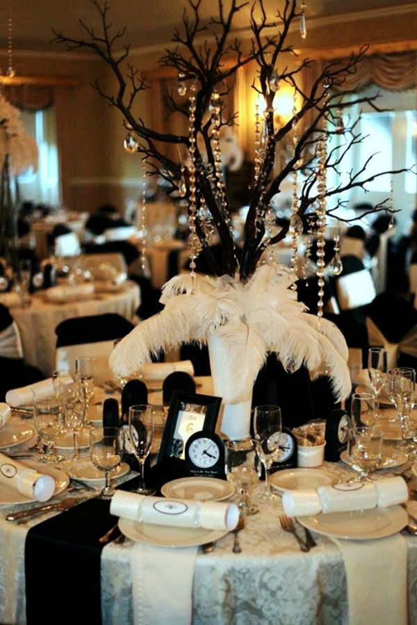New Years Eve Wedding Reception Decorations