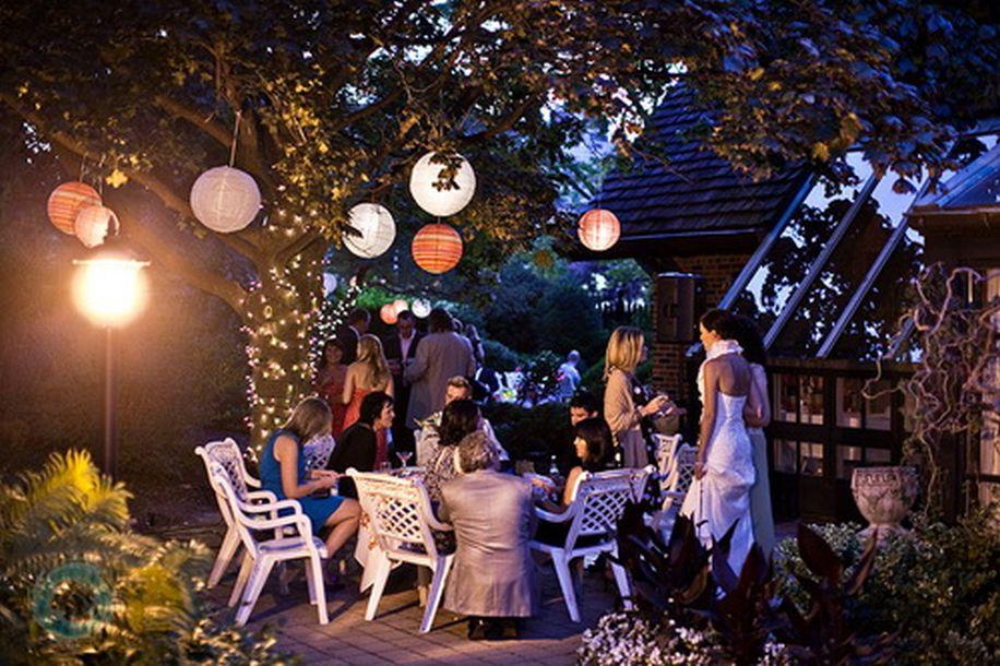 Night Garden Wedding Ideas