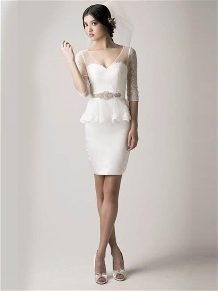 Peplum wedding dress junglespirit Gallery