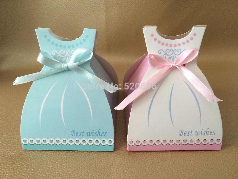 Colorful Wedding Dress Favor Boxes Model Wedding Dress Inspiration