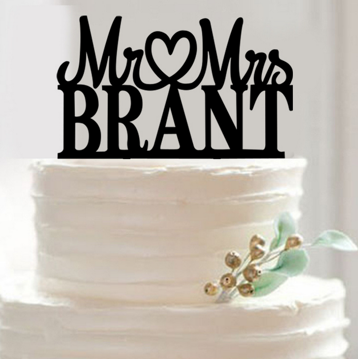 monogram wedding cake toppers cheap personalized wedding cake toppers 5999