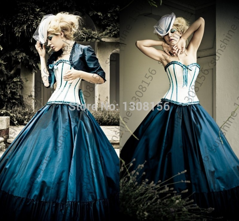 Punk Wedding Dresses: Gothic Wedding Gown