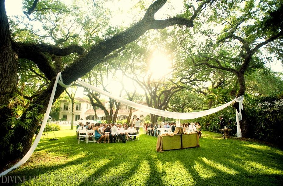 Outdoor Wedding Altar