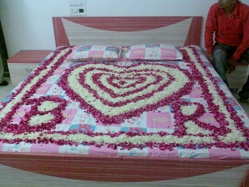 . Indian Wedding Bedroom Decoration