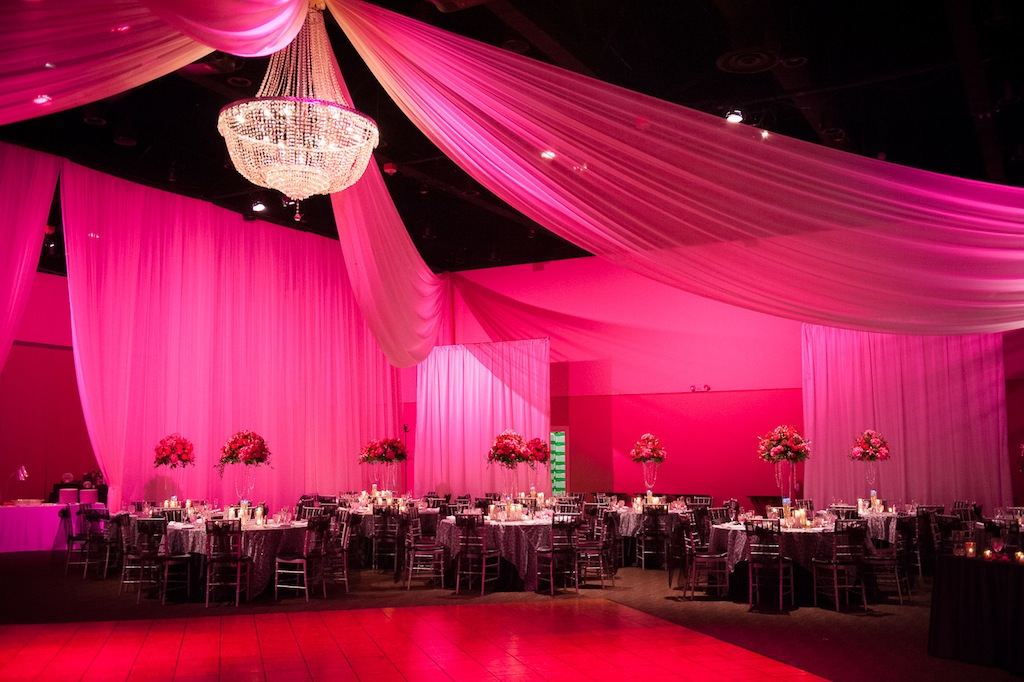 Pink Black White And Silver Tampa Wedding At A La Carte Pavilion