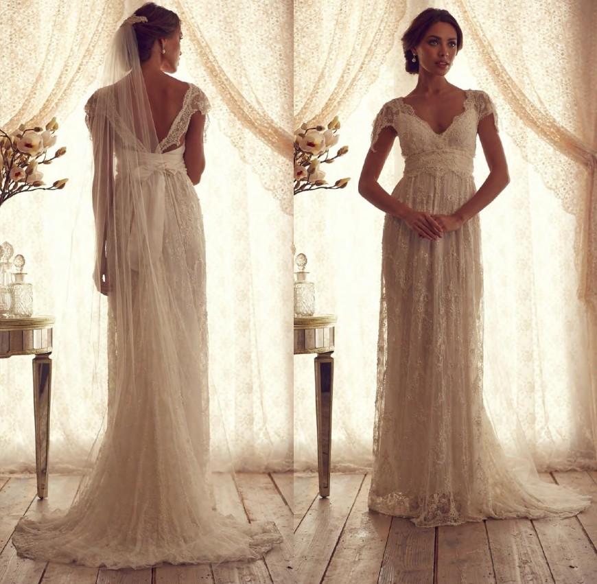 Lace Country Wedding Dress