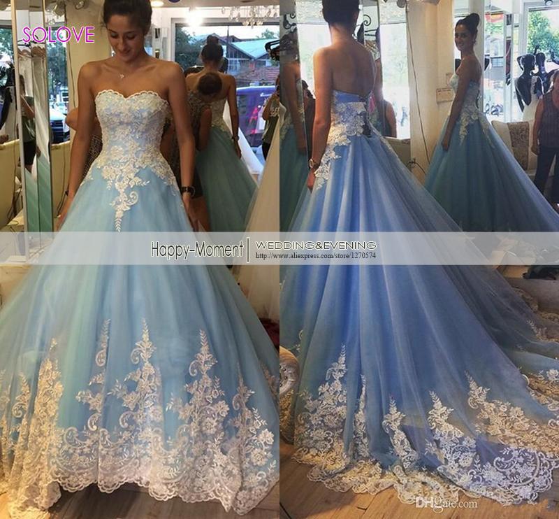 Blue Wedding Gown: Baby Blue Wedding Dress