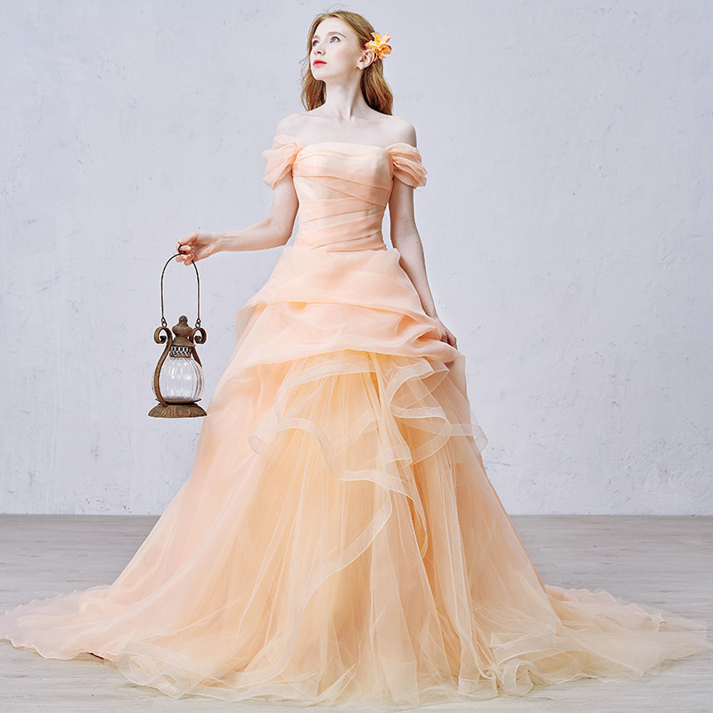 Orange wedding dress junglespirit Images