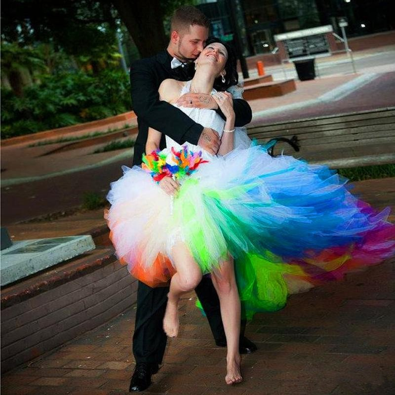 Cheap Rainbow Wedding Dresses – Dresses for Woman