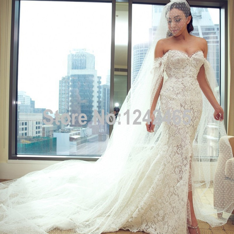 Wedding Dress With Slits