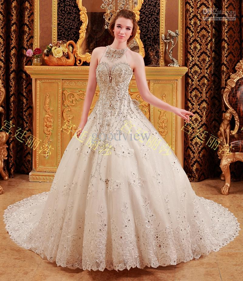 Wedding Dress With Sparkles