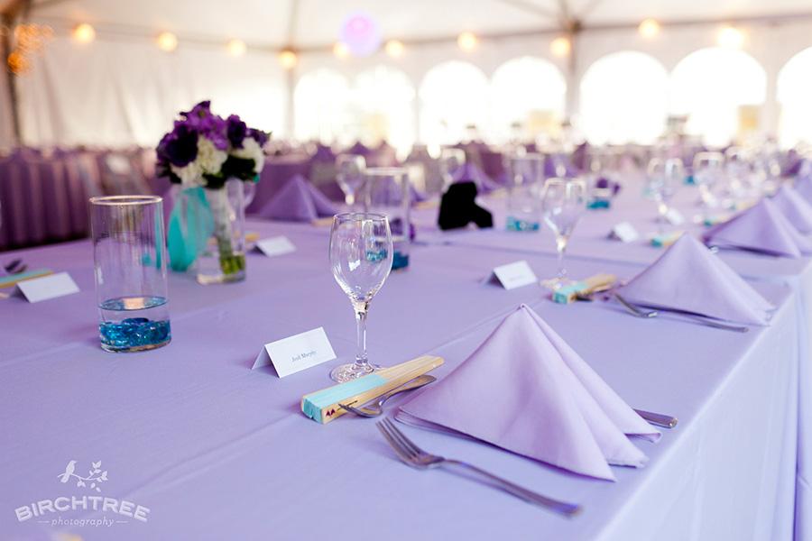 Teal And Purple Wedding Ideas: Purple Teal Wedding