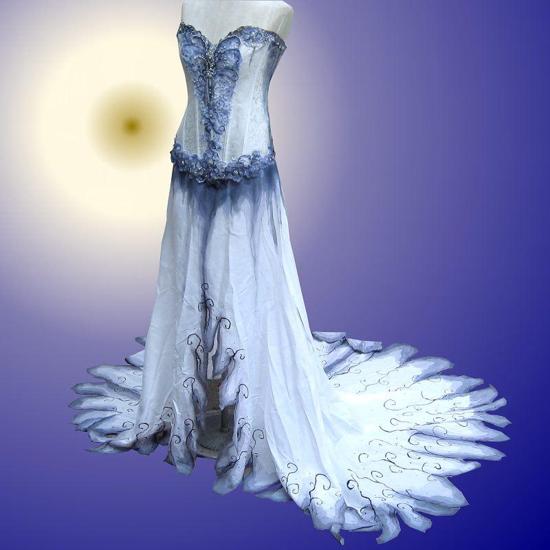 Corpse Bride Wedding - Corpse Bride Inspired Wedding Dress