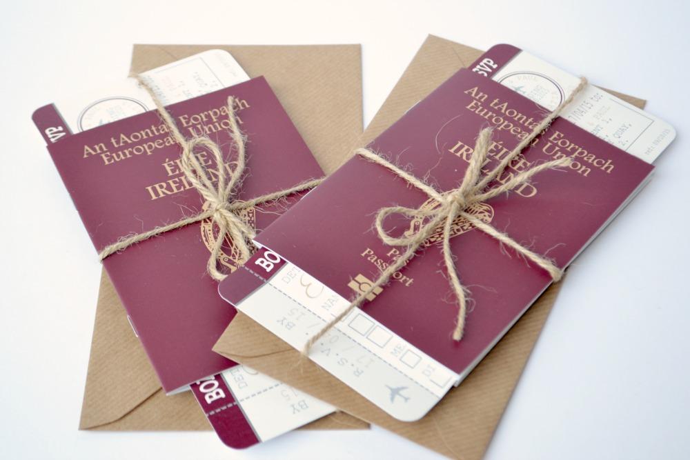 Passport Wedding Invitations – Passport Wedding Invites
