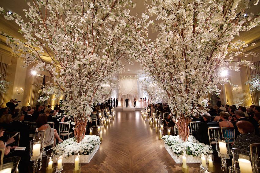 Rose Gold Wedding Ideas For Ceremony Reception DÃ Cor