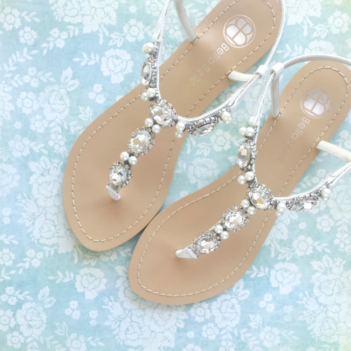 Wedding Flip Flops For Bride