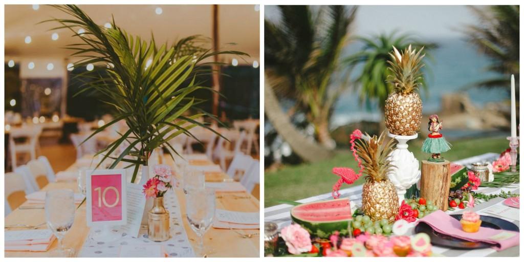 Say Aloha To A Tropical Wedding Theme