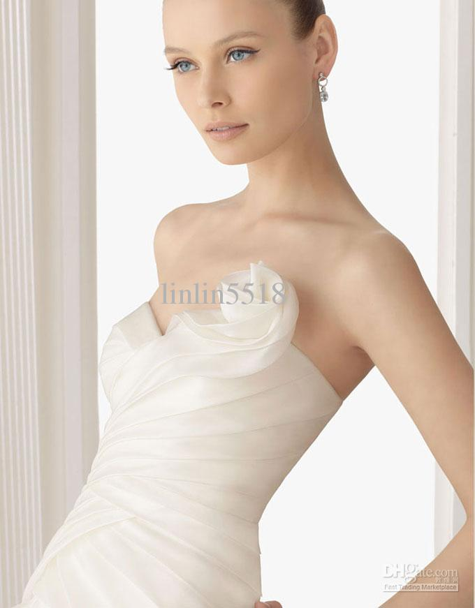 silk organza wedding dress