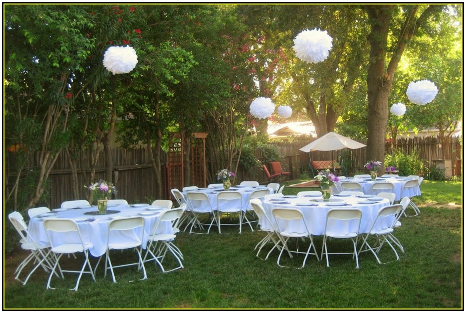 Simple Outdoor Ceremony Decorations: Simple Backyard Weddings