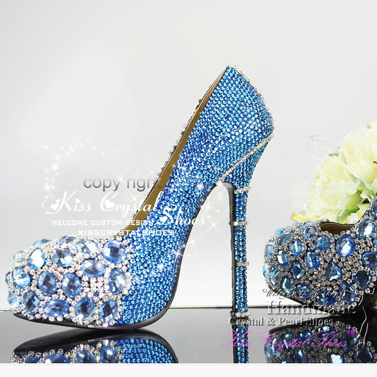 Something Blue Wedding Shoes - Navy Blue Dress Shoes For Wedding