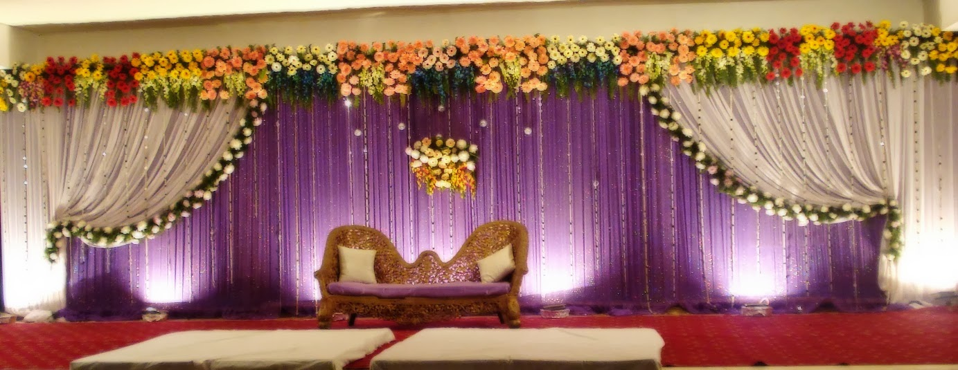 how to make a wedding stage backdrop