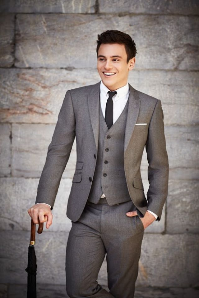 Charcoal Grey Suit With Vest | Wedding Tips and Inspiration