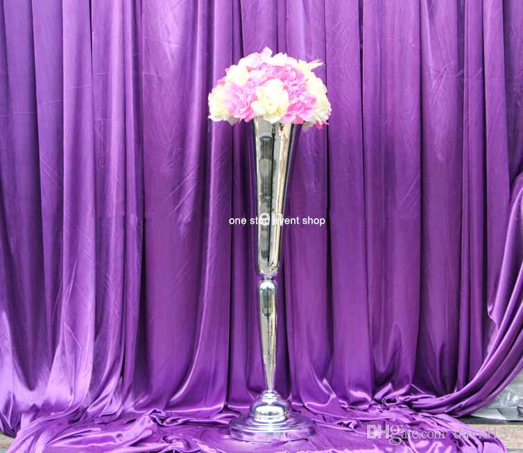 Tall martini glasses wedding centerpieces