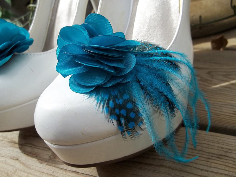 Teal Wedding Shoes To Complete Your Green