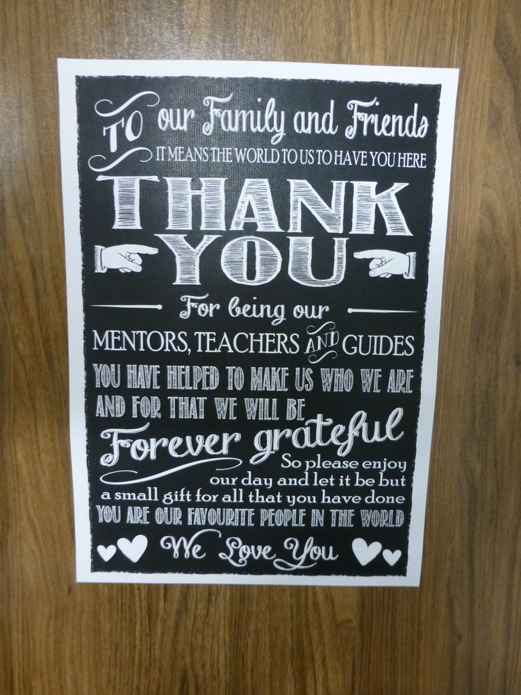 Signs For Wedding Reception