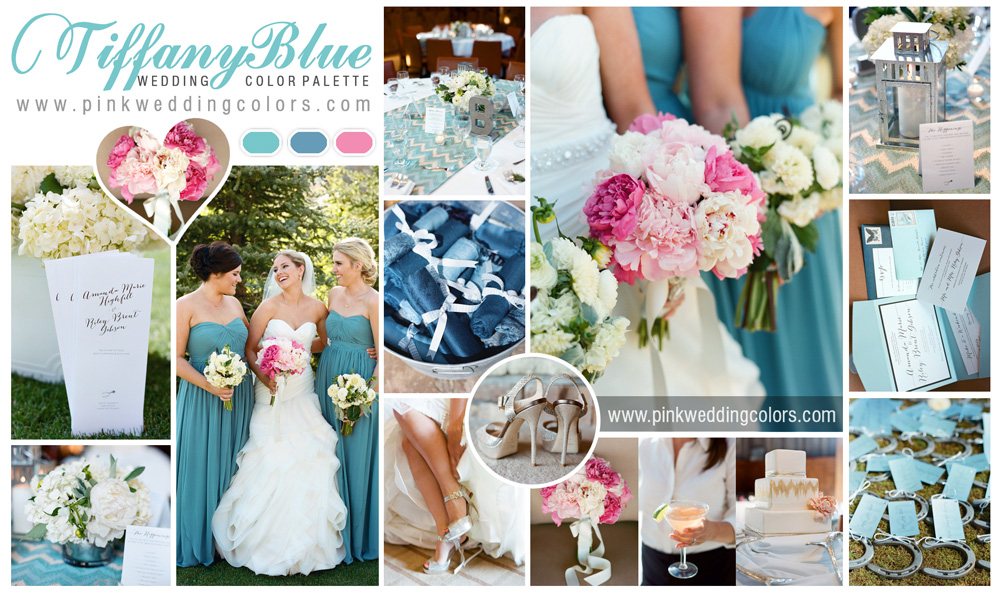 Tiffany 6 Perfect Shades Of Blue Wedding Color
