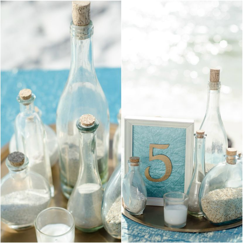 Beach themed centerpieces for weddings
