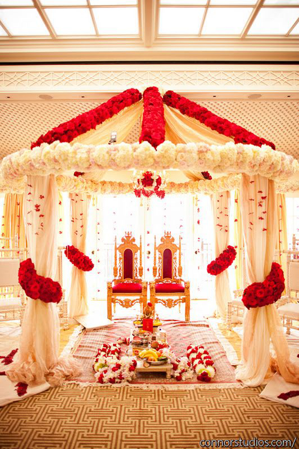 Red White Wedding Theme Pictures : Trending red white and gold wedding theme ideas for