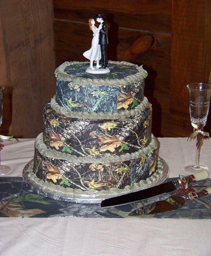 Truly Creative Classy Camo Wedding Cake Creation Ideas Super