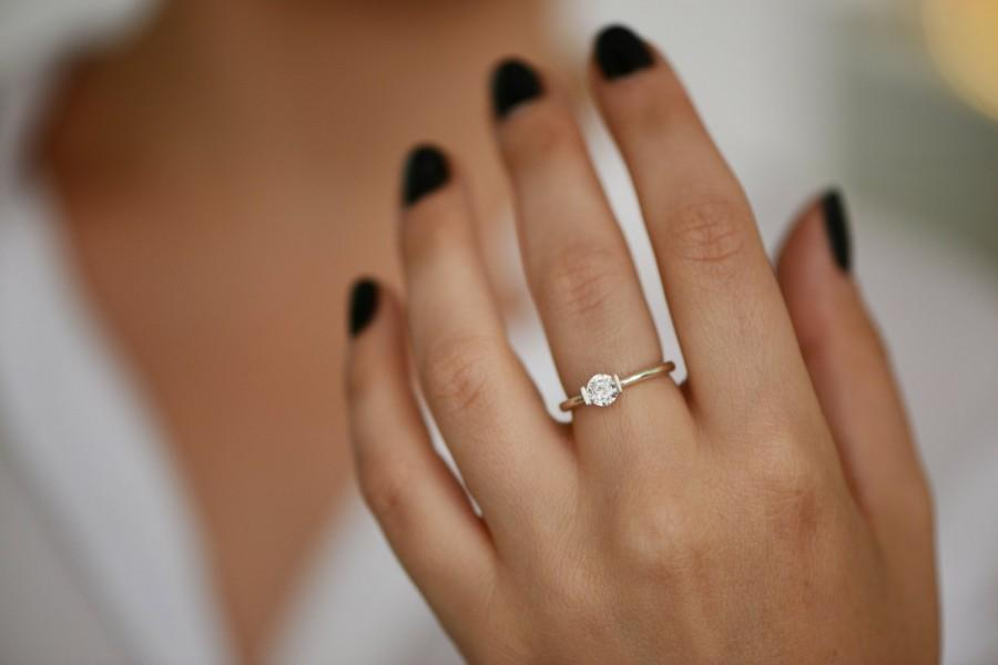 promise ring engagement ring and wedding ring set unique stackable wedding rings 6829